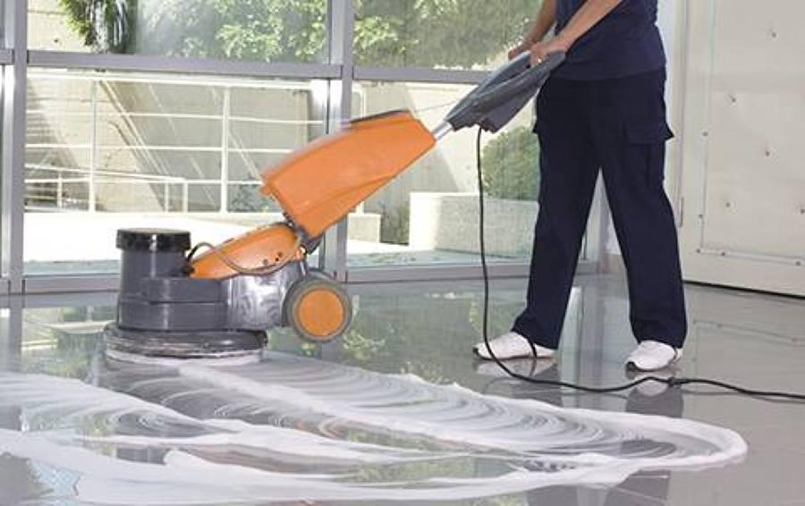 Limpieza de suelo