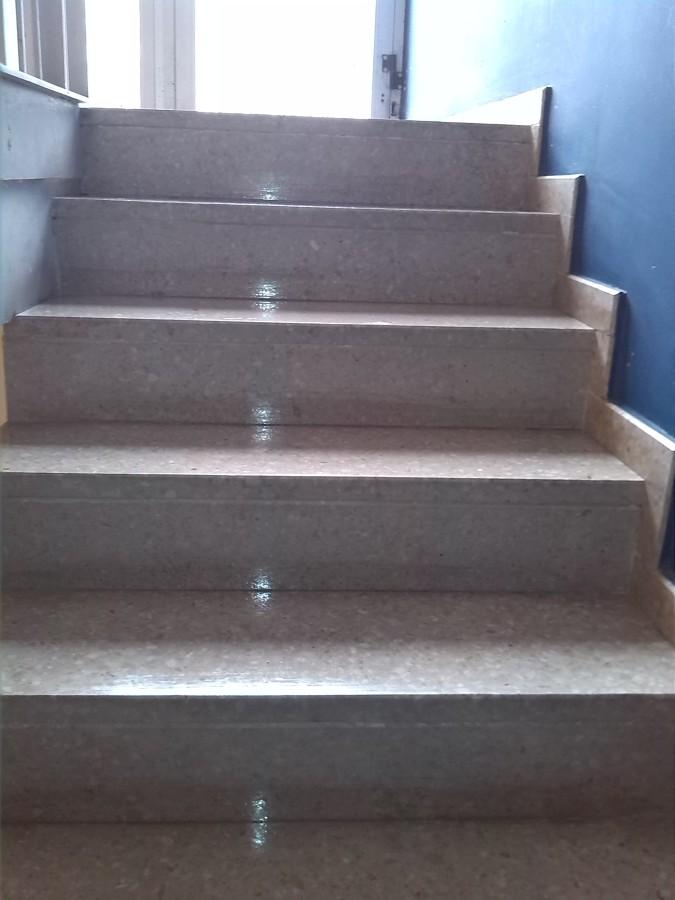Limpieza escaleras acceso I