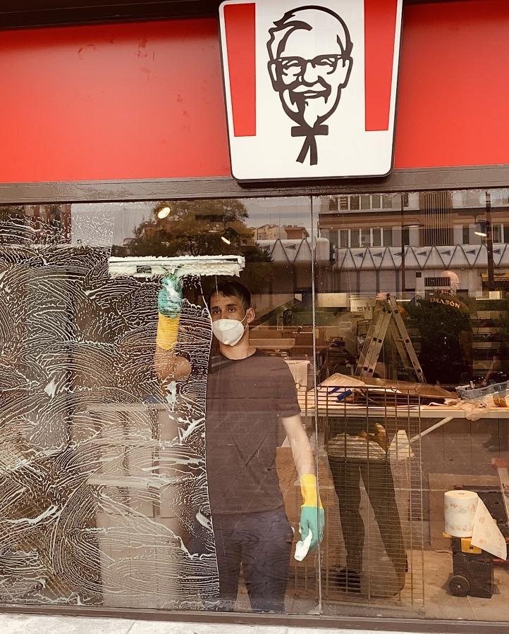 Limpieza KFC Av Meridiana Barcelona