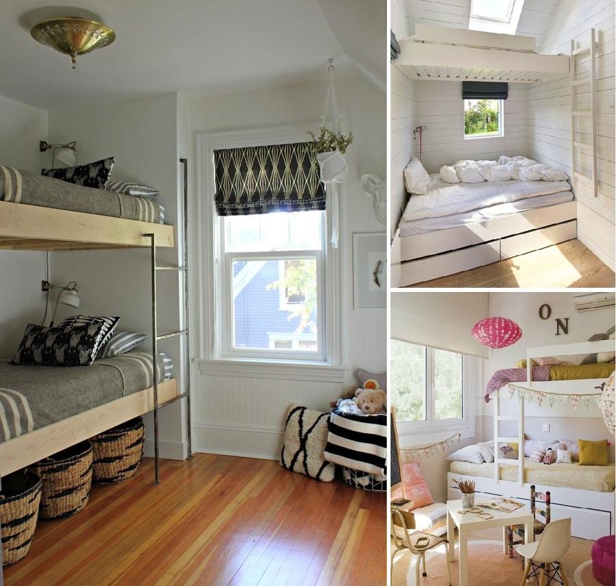 Poco espacio en el dormitorio de los peques las literas for Hotel para cuatro personas