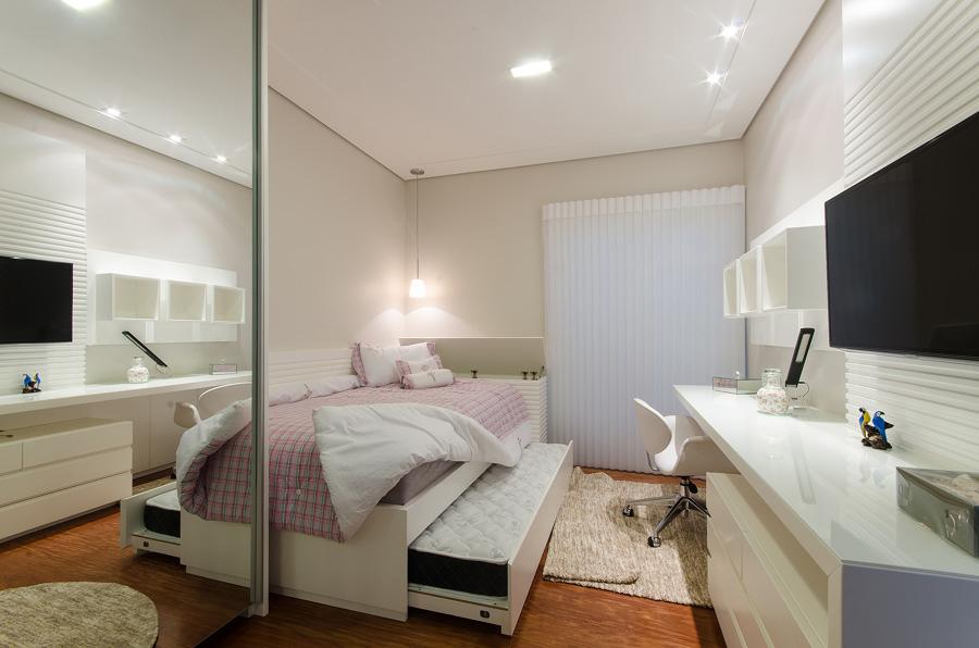 10 soluciones para dormitorios peque os ideas decoradores - Soluciones para dormitorios pequenos ...