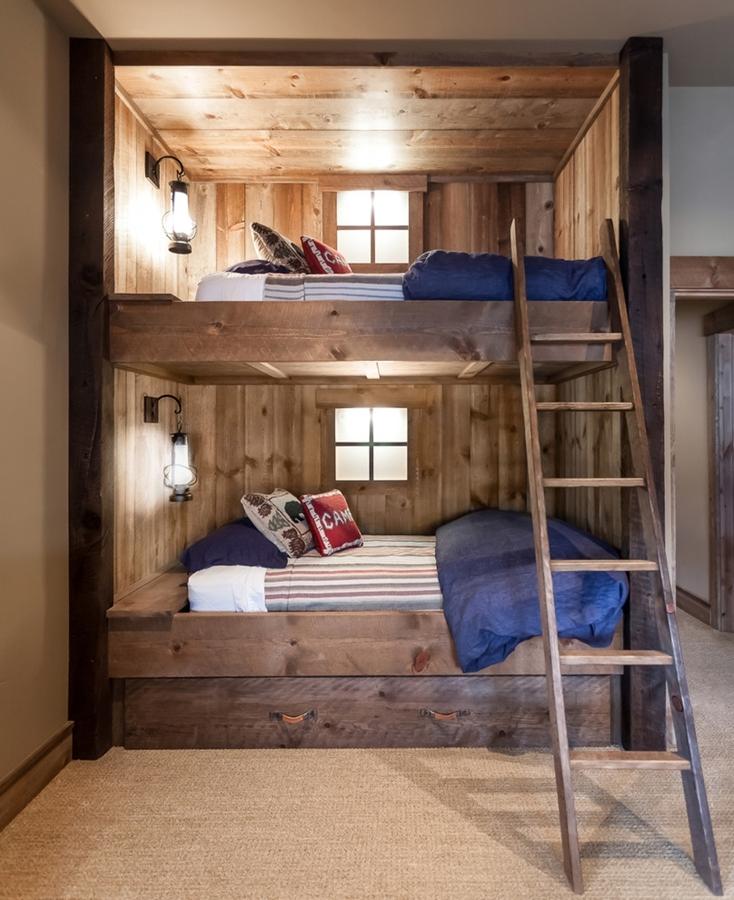 Poco espacio en el dormitorio de los peques las literas for Literas originales