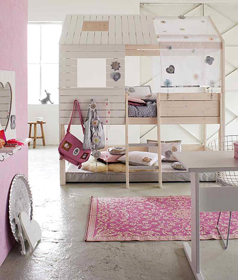 literas cabaña dormitorio infantil