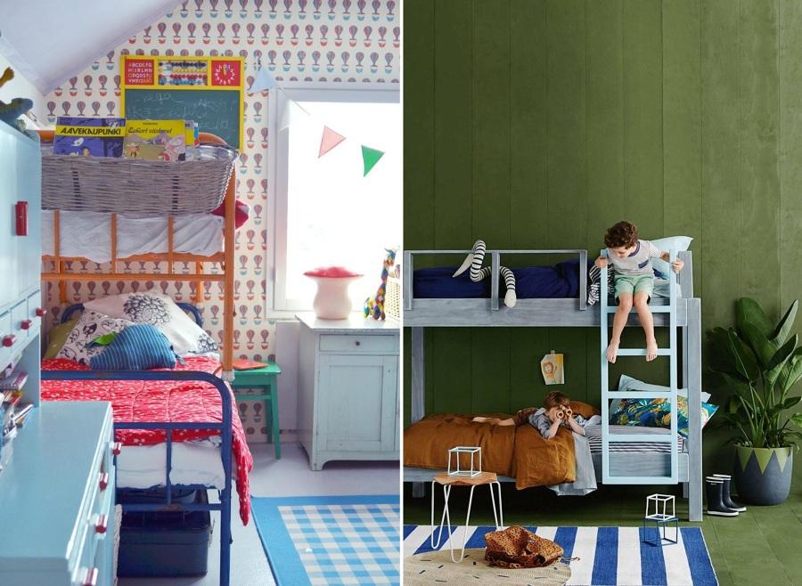 Poco espacio en el dormitorio de los peques las literas - Literas infantiles divertidas ...
