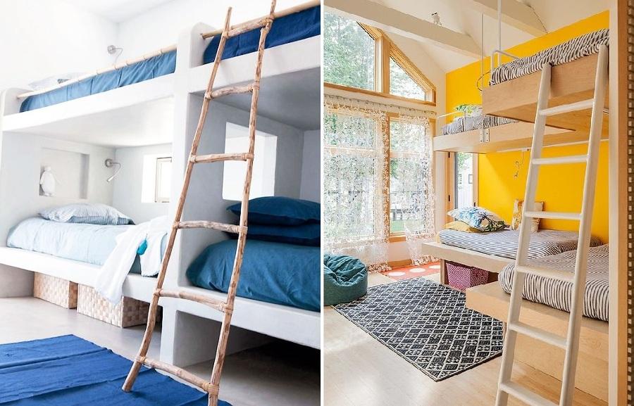 Poco espacio en el dormitorio de los peques las literas son la soluci n ideas decoradores - Escaleras para literas infantiles ...