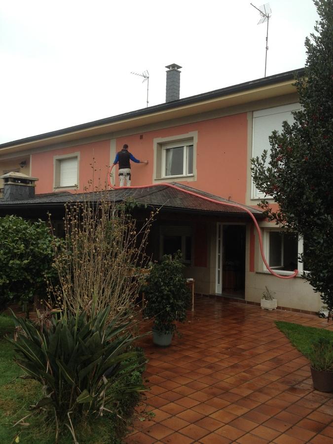 Casa residencial familiar aislamiento de la pared - Aislamiento termico para casas ...