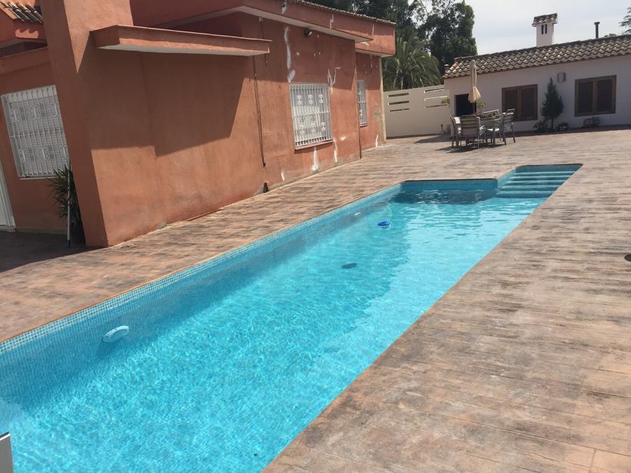 piscina 9 x 3 y hormig n impreso ideas construcci n piscinas