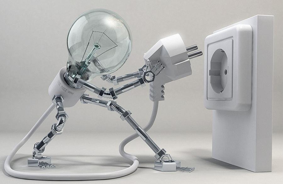 lampara robot
