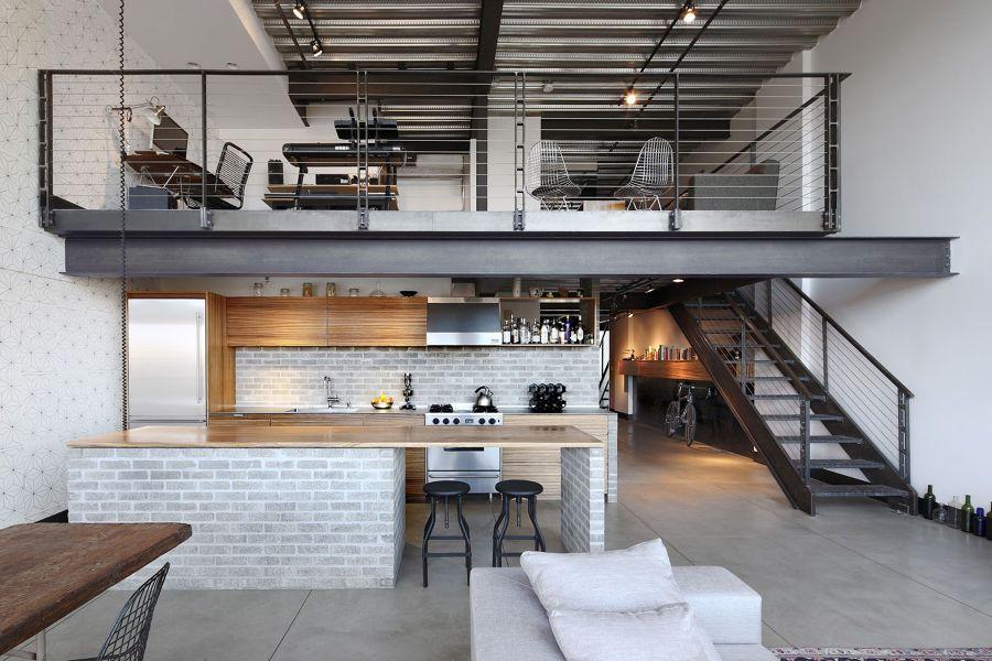 Loft abierto