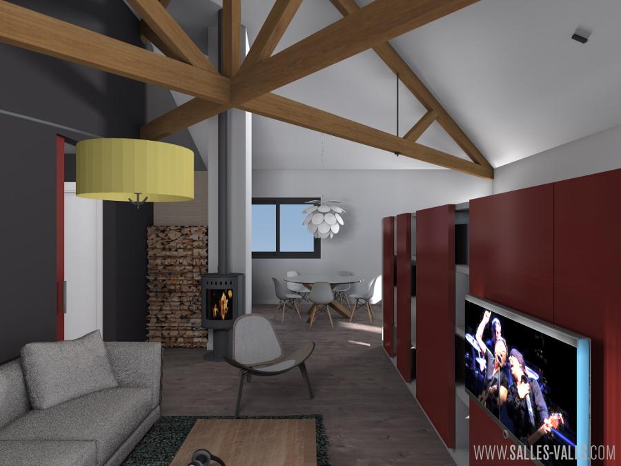 Loft espacio de trabajo y vivienda