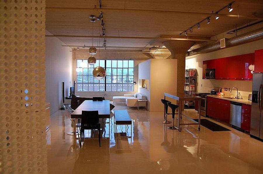 Decoraci n estilo loft ideas reformas viviendas for Decoracion estilo loft