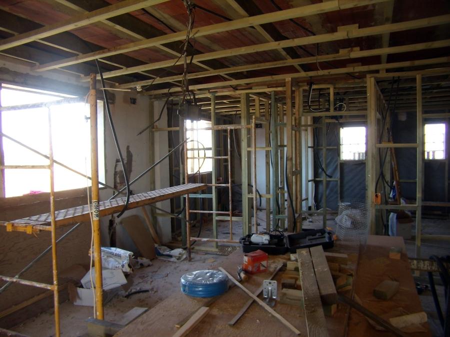 2) LOFT - Apartamento 90m2:  Durante la reforma