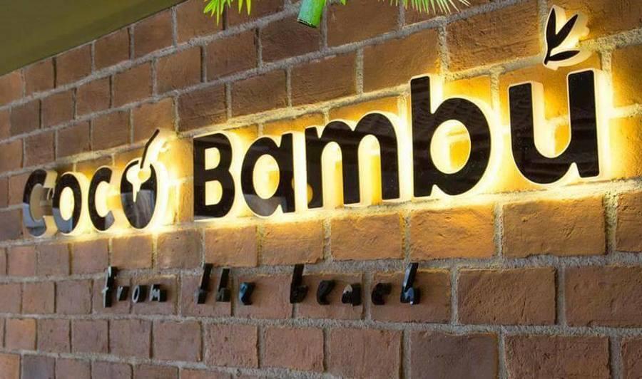 Logotipo coco bambú