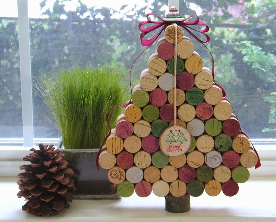 árbol de navidad de colorines mini