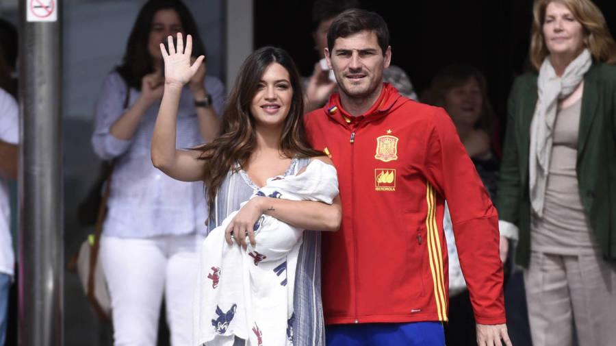 Lucas, el hijo de Sara Carbonero e Iker Casillas