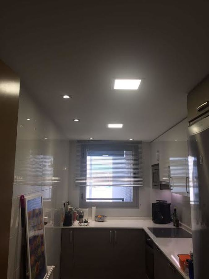 luminarias techo