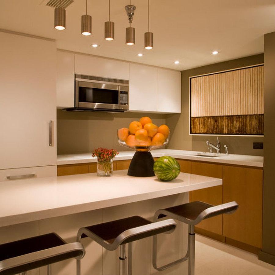 Foto luz fr a y c lida para cocina de 3dinteriores - Iluminacion para cocina comedor ...