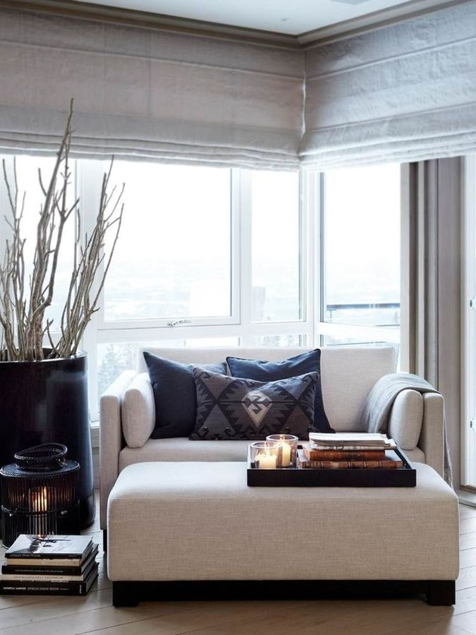 salón con luz natural