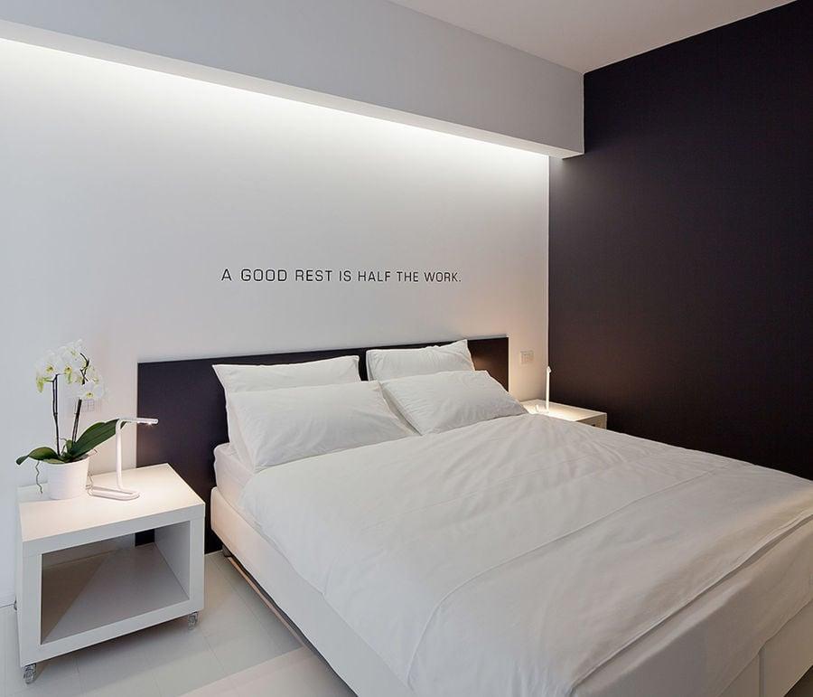 Iluminaci n oculta retroiluminados y luces indirectas - Luces de pared para dormitorio ...