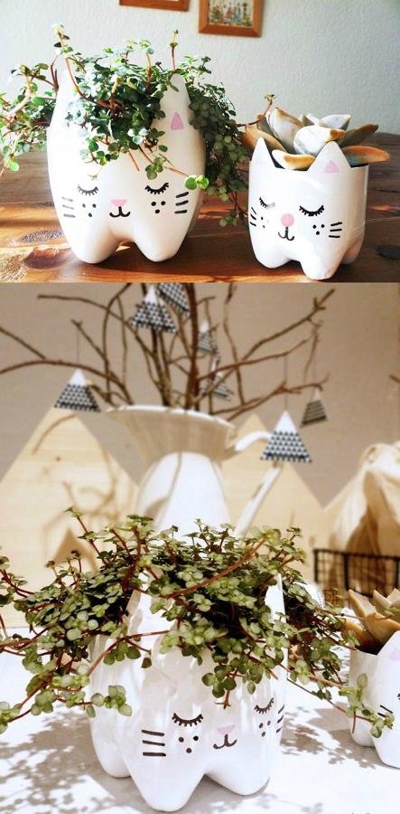 convierte tus macetas en obras de arte diy | ideas decoradores