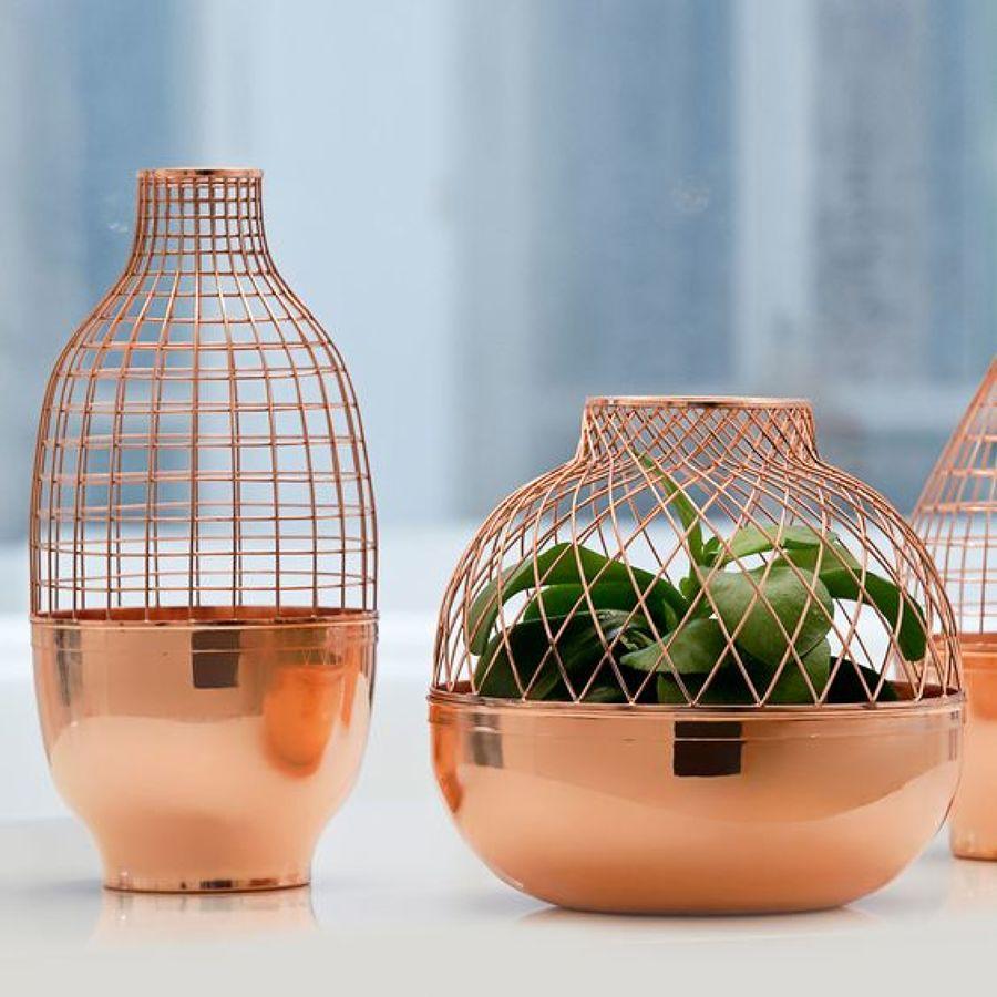 Viste tu casa con cobre ideas decoradores - Objetos de cobre ...