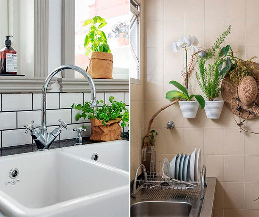 macetas para cocina top decorar ventana macetas plantas