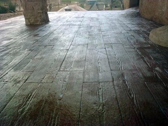 Foto madera de pavifernandez 273763 habitissimo for Hormigon impreso jerez