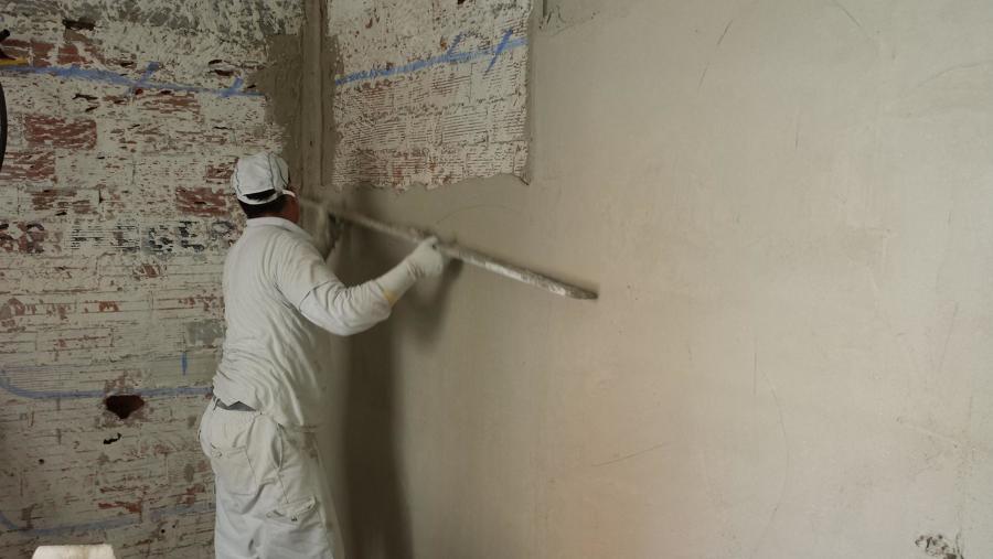 Reforma vivienda c macarena aluche ideas reformas for Grietas en paredes interiores