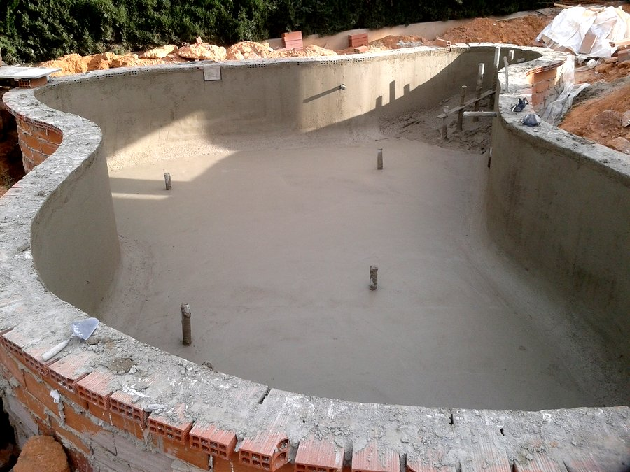 Proyecto y construcci n de piscina tipo laguna ideas for Vaso piscina