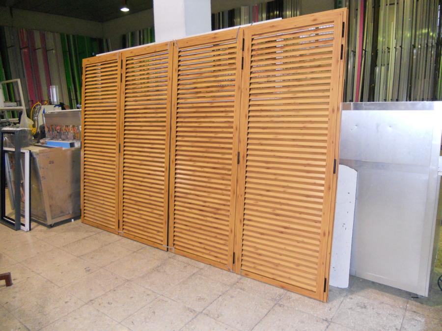 Trabajos de fabricaci n propia ideas carpinter a aluminio - Mallorquinas de madera ...