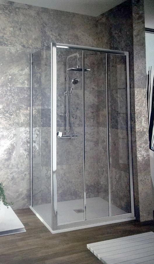 mampara angular ducha