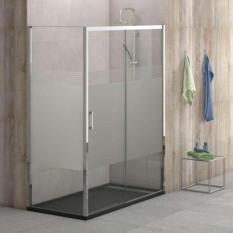 Mampara ducha rectangular