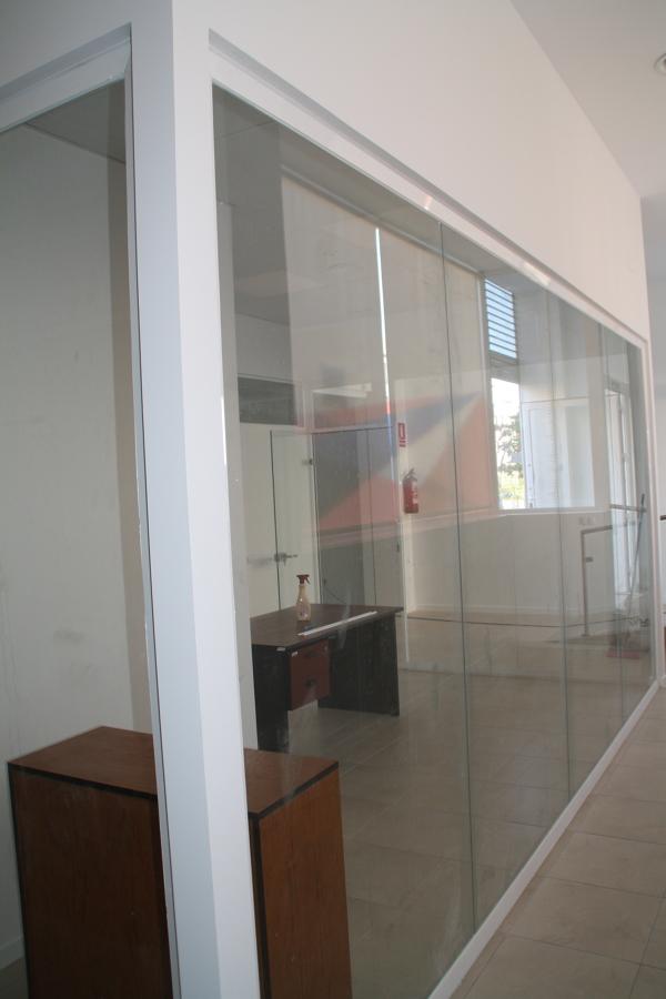 Mamparas de vidrio