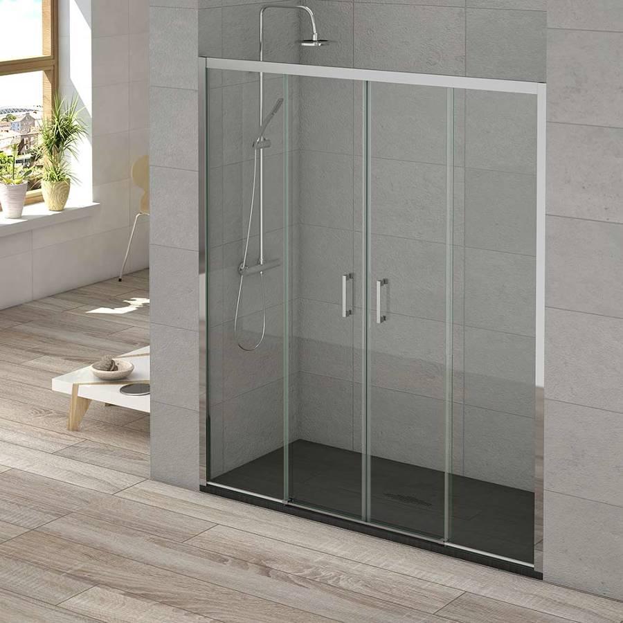 Mamparas ducha entre paredes