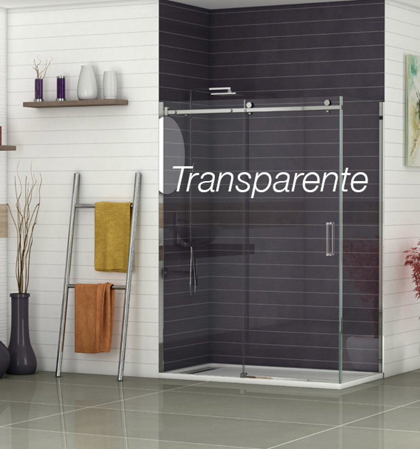 Mamparas ducha transparente