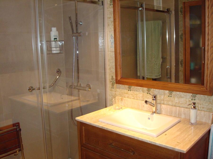 manpara y ducha nueva