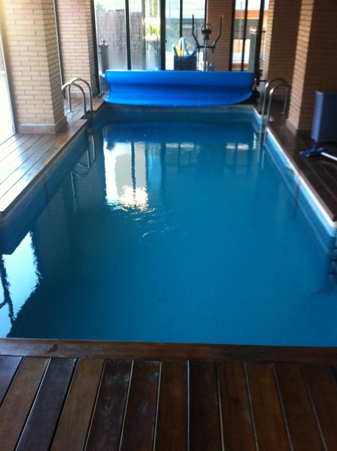 Mantenimiento piscina climatizada