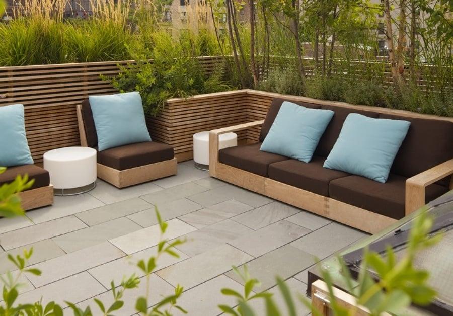 C mo limpiar y mantener el suelo de tu terraza ideas for Azulejos de patio