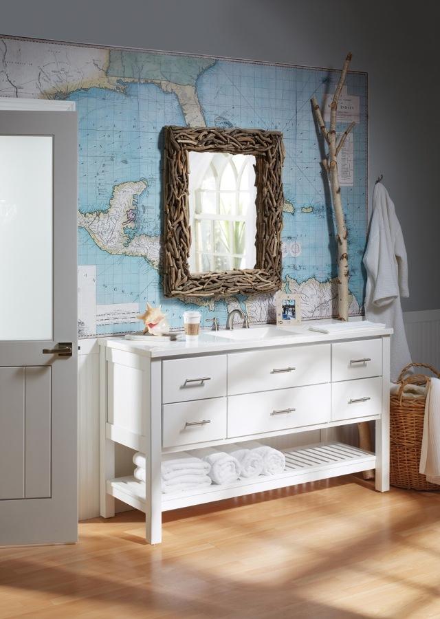 mapa cuarto de baño