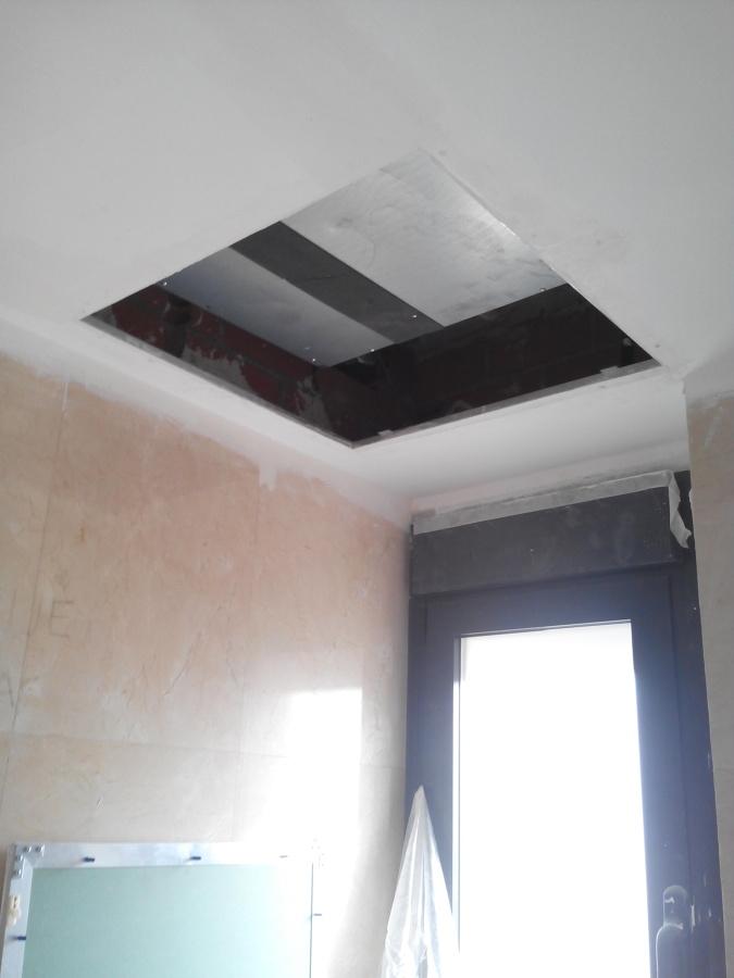 Genial falso techo ba o galer a de im genes techos de - Falsos techos para banos ...