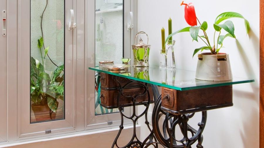 7 ideas para dar un toque original a tu casa ideas for Macchina da cucire da tavolo