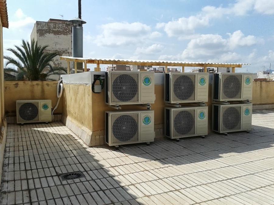 Instalaci n de m quinas de aire acondicionado ideas aire for Maquinas de aire acondicionado baratas