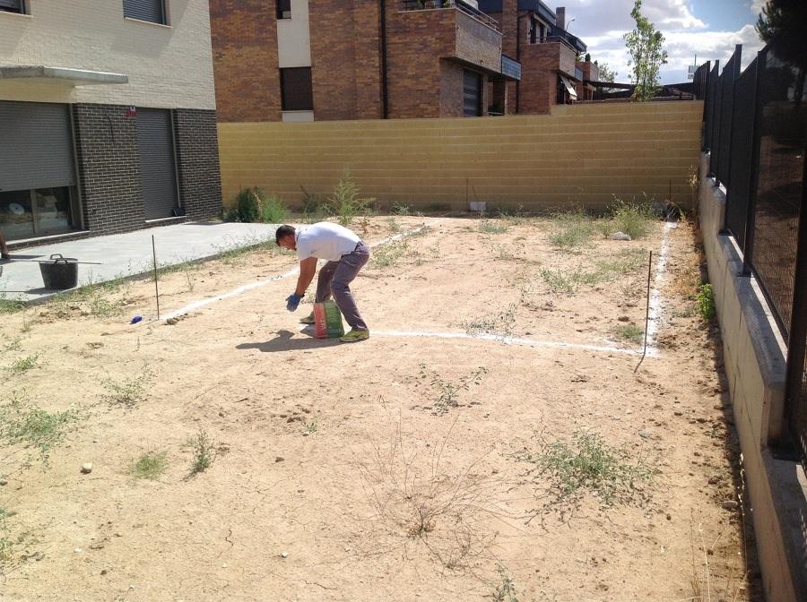 Marcado para excavación