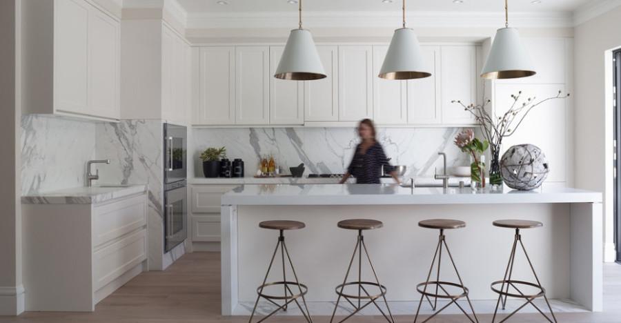mrmol blanco cocina - Marmol Cocina