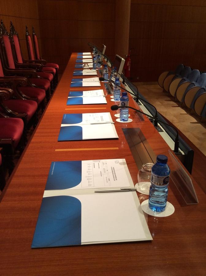 Mecanización mesa Auditorio