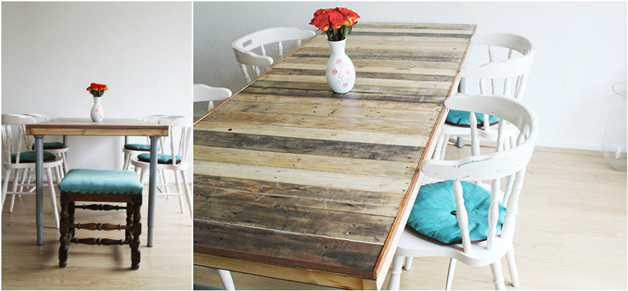 Cosas ins litas que los amantes del bricolaje pueden hacer - Como hacer mesa comedor ...