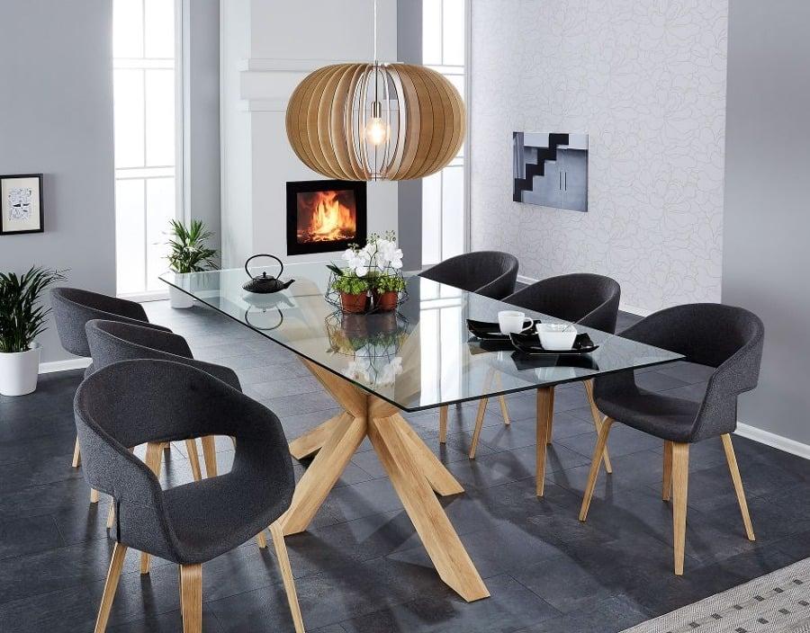 Mesa de centro y sillas de JYSK