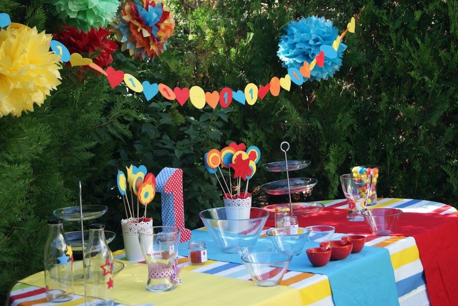 Celebra un cumplea os infantil y campestre ideas decoradores - Decoracion cumpleanos bebe 1 ano ...