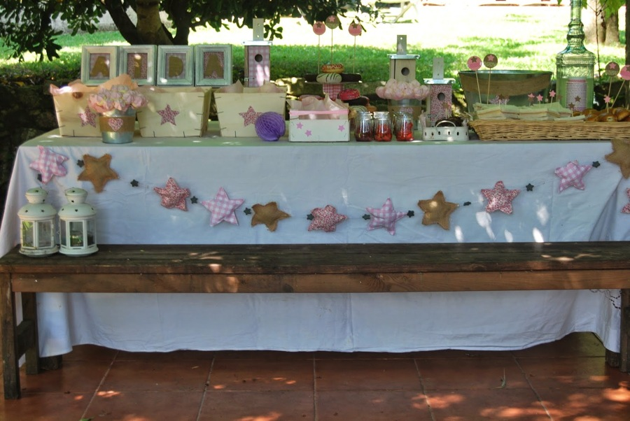 Celebra un cumplea os infantil y campestre ideas decoradores - Decoracion de mesas cumpleanos adultos ...