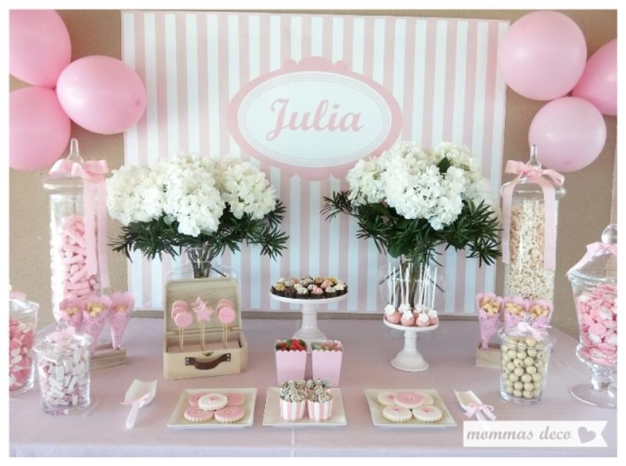 Las comuniones se acercan ideas decoradores for Mesas dulces comunion nina
